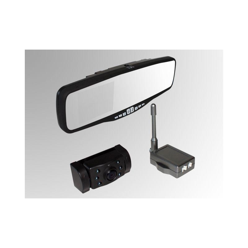 autres accessoires eufab camera de recul sans fils pro user ecran integre au retroviseur kit. Black Bedroom Furniture Sets. Home Design Ideas