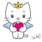 Automobile Automobile Angel Cat Sugar Protectuion dossier enfant Angel Cat Sugar ACKFZ670