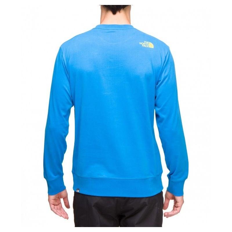 sélection premium 0db3e 47a76 THE NORTH FACE Slogan cotton Tee shirt manche longue homme ...