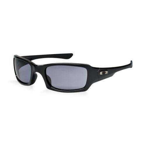 Oakley Fives Squared Lunettes Polished Black/Grey