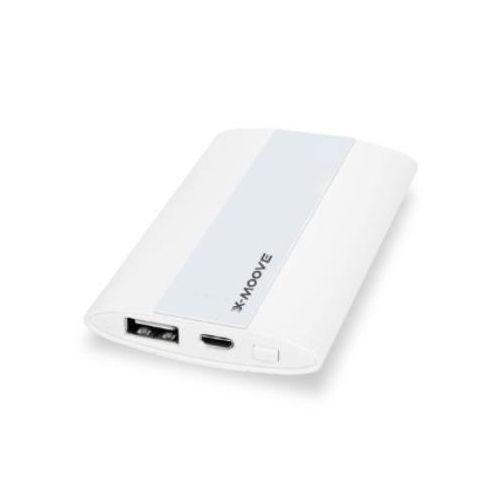 Batterie Iphone Smartphone Portable MINI Blanc Powergo 3000 mAh