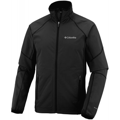 Veste SWEET AS Columbia Soft shell Ultra-respirante Homme Noir