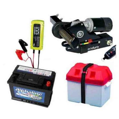 Deplace caravane  Enduro mover EM203 + batterie + bac batterie + chargeur Offre Package 03