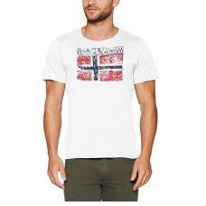 Napapijri T-Shirt homme Surl Ess blanc