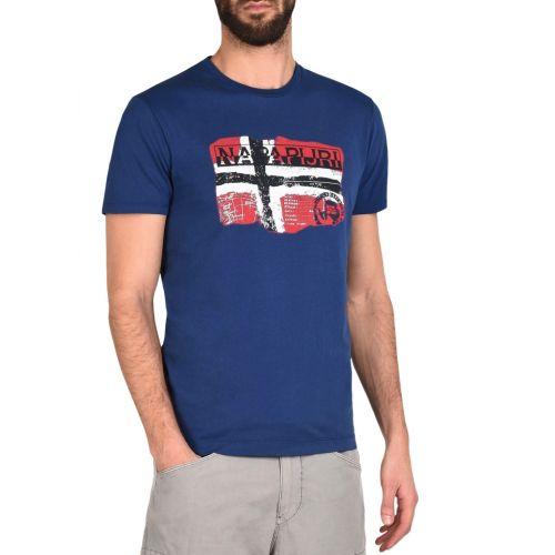 Napapijri T-Shirt homme Saleny marine