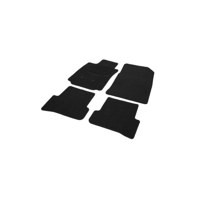 Tapis auto peugeot 207 207 sw sur mesure noir for Moquette inondee 207