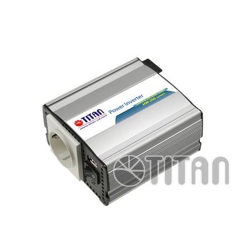 TITAN-CD Convertisseur de tension energie 12V 350W HW-350E6 + USB