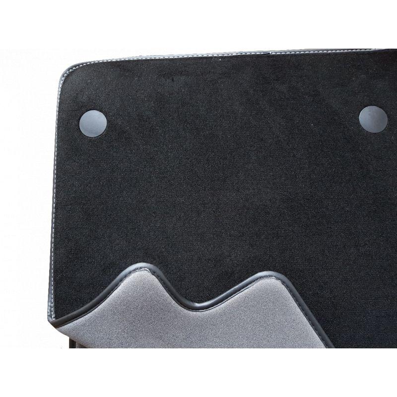 tapis moquette sur mesure prestige pour volkswagen golf 7 golf 7 sw seat leon 3 seat leon 3. Black Bedroom Furniture Sets. Home Design Ideas
