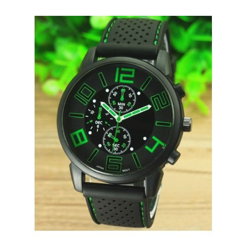 Montre GT GRAND TOURING Vert Homme QUARTZ