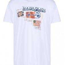 Napapijri T-Shirt homme Stockton blanc
