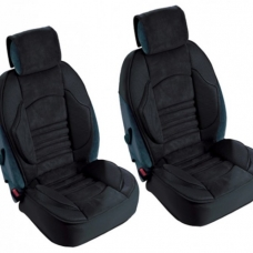 2 Couvres sieges Grand Confort Airbags Lateraux Maille respirante Noir